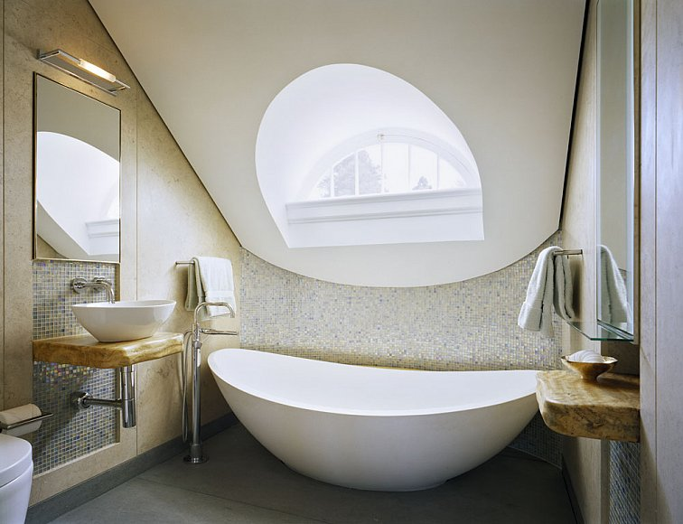 luxury contemporary modern bathroom bath