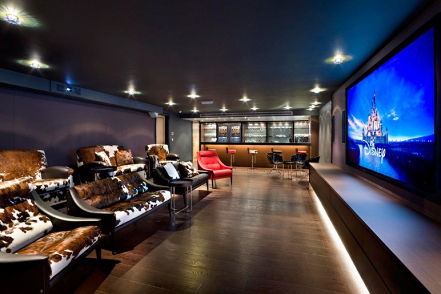 attic buildout ideas - The Luxury Mansion In London By Harrison Varma Adelto Adelto